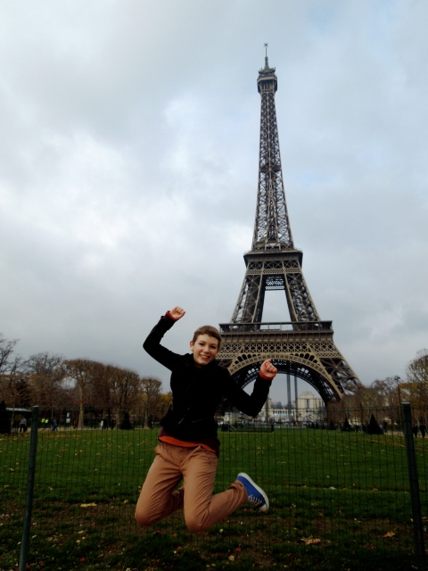 Jumping Eiffel