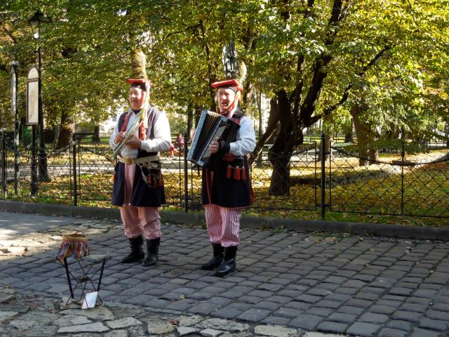 Poles in Costume