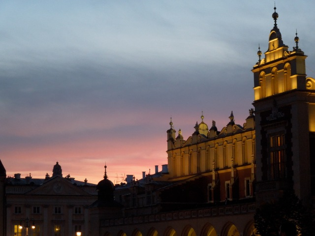 Sunset Over Main Market Square