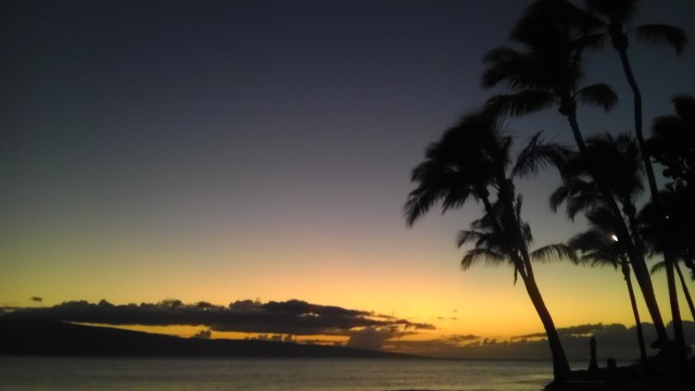 Quintessential Hawaiian Sunset