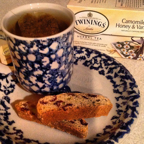 Tea with Biscotti