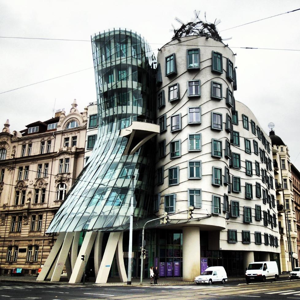 Prague via instagram an opportune moment - Modern art nouveau architecture ...