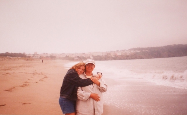 My mother and I in San Francisco when I was 13.