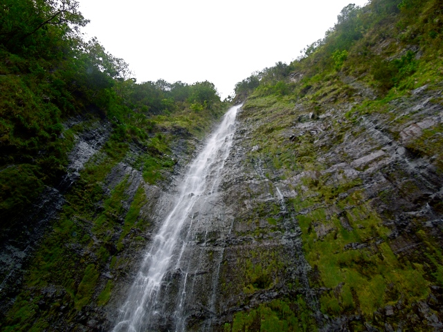 Waimoku Falls is a waterfall you can hike to from Oheo Gulch
