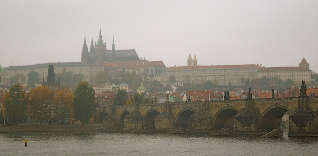 Fun Fact: People often mistake the cathedral with spires for Prague Castle, when in fact the Castle is made up of a series of buildings, which includes the cathedral.