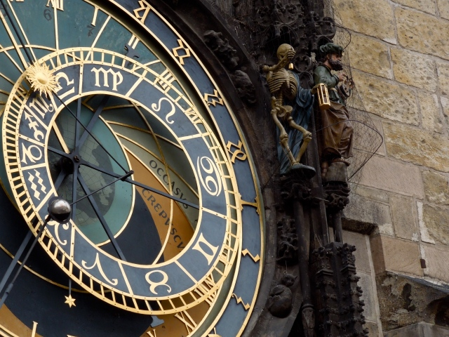 Detail of the Astronomical Clock