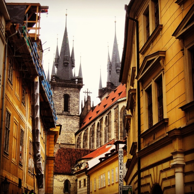 The most photogenic building in Prague: The Church of Our Lady Before Týn