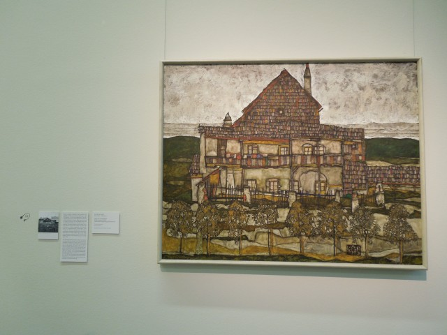 House with Shingled Roof (Old House II) by Egon Schiele