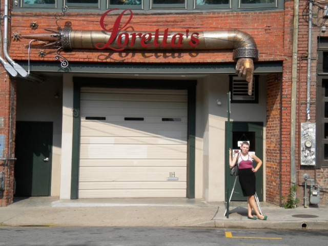 Loitering in Asheville