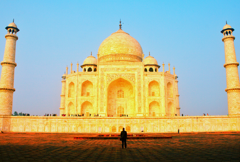 Taj Mahal. Photo by Christian Haugen. Flickr Creative Commons.