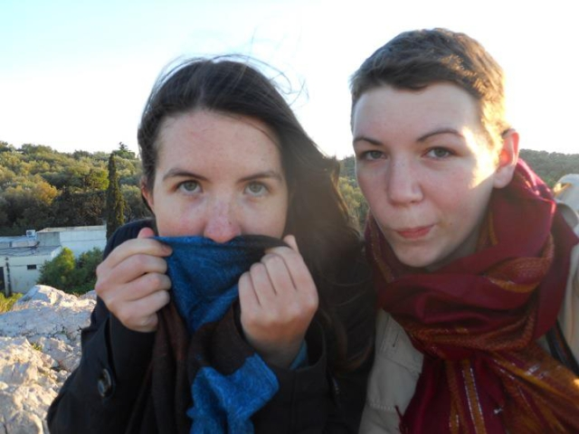 Sometimes you'll have a friend like Katie, who you'll love traveling and being goofy with