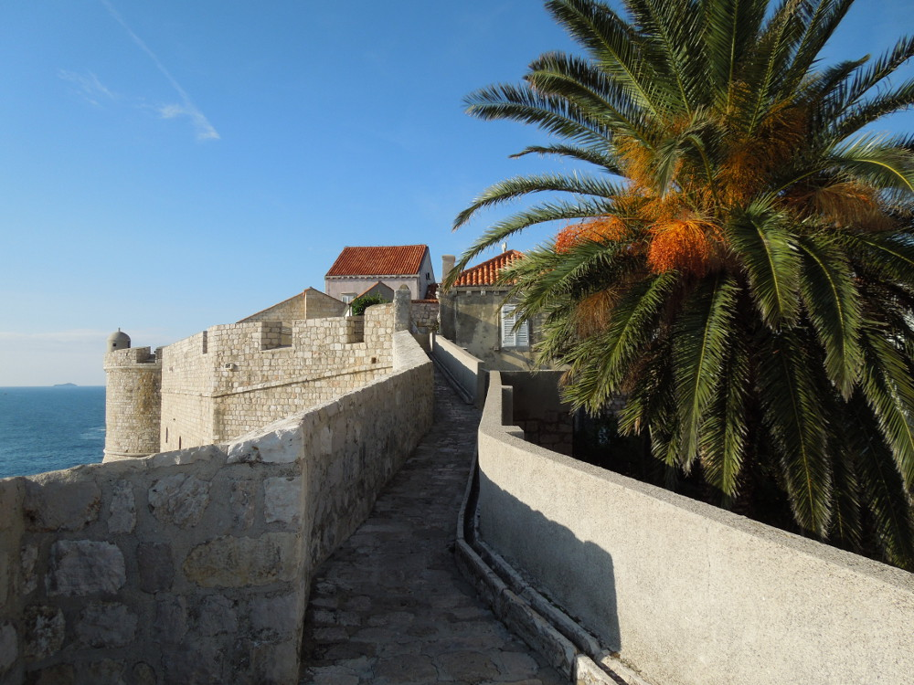 Sometimes there's only one path, and being decisive isn't too hard --Dubrovnik, Croatia