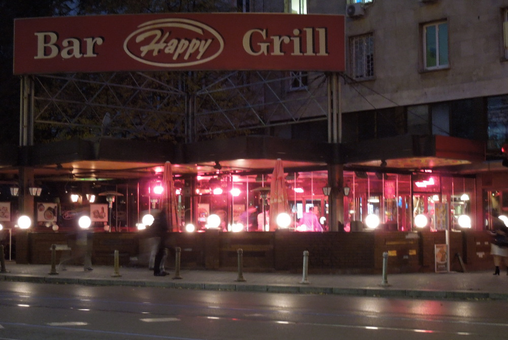 "But is it called ""Happy Bar & Grill"" or ""Bar Happy Grill?"""