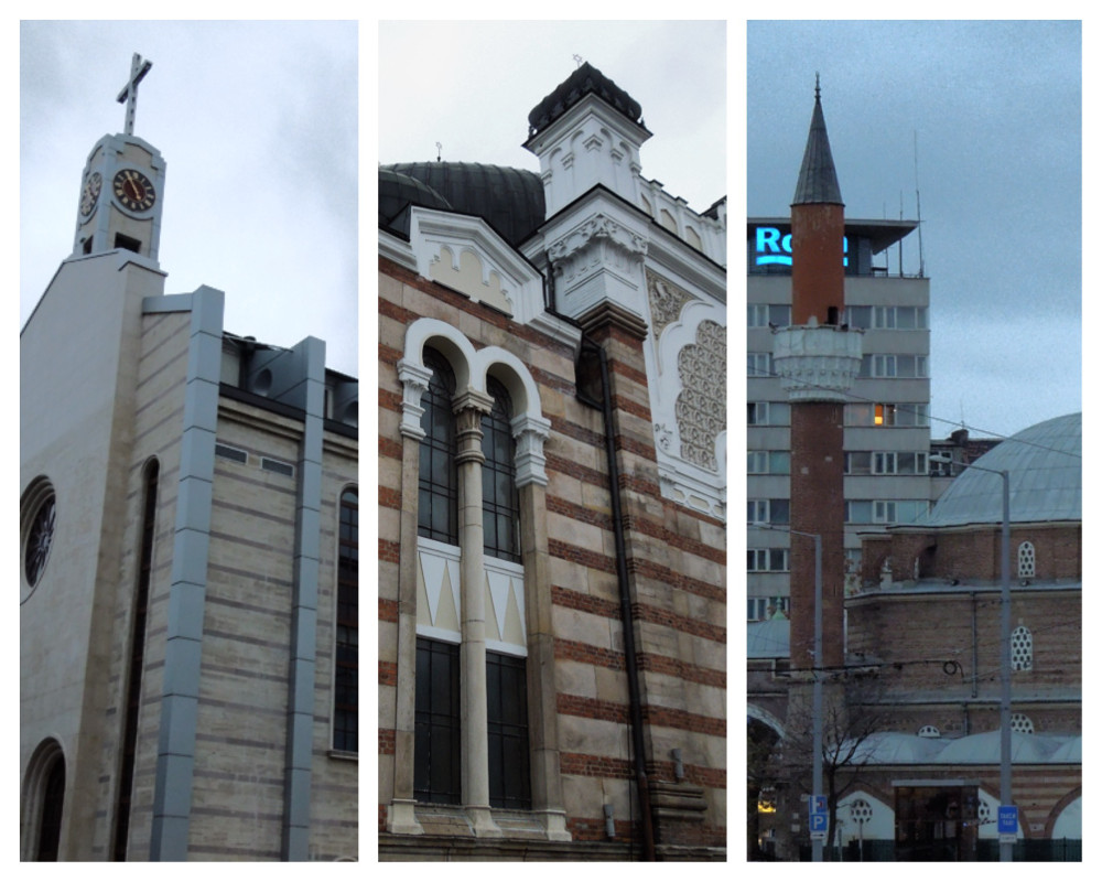 A church, a synagogue, and a mosque walk into a bar...