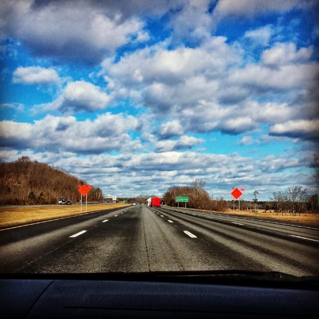 Driving to New Hamoshire