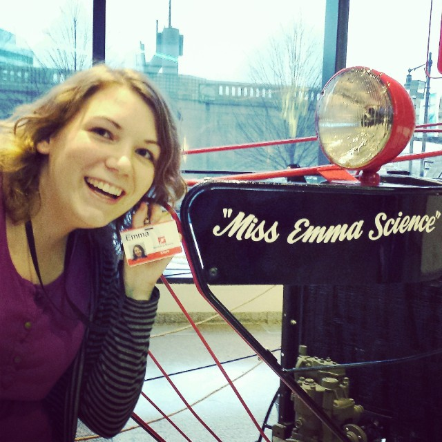 That's MISS Emma Science to you!