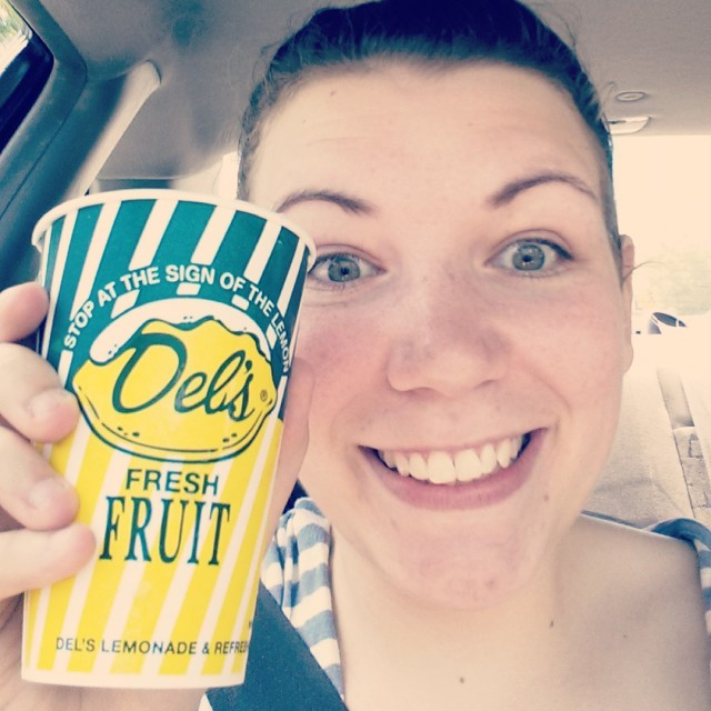 Summer in Rhode Island means Del's lemonade