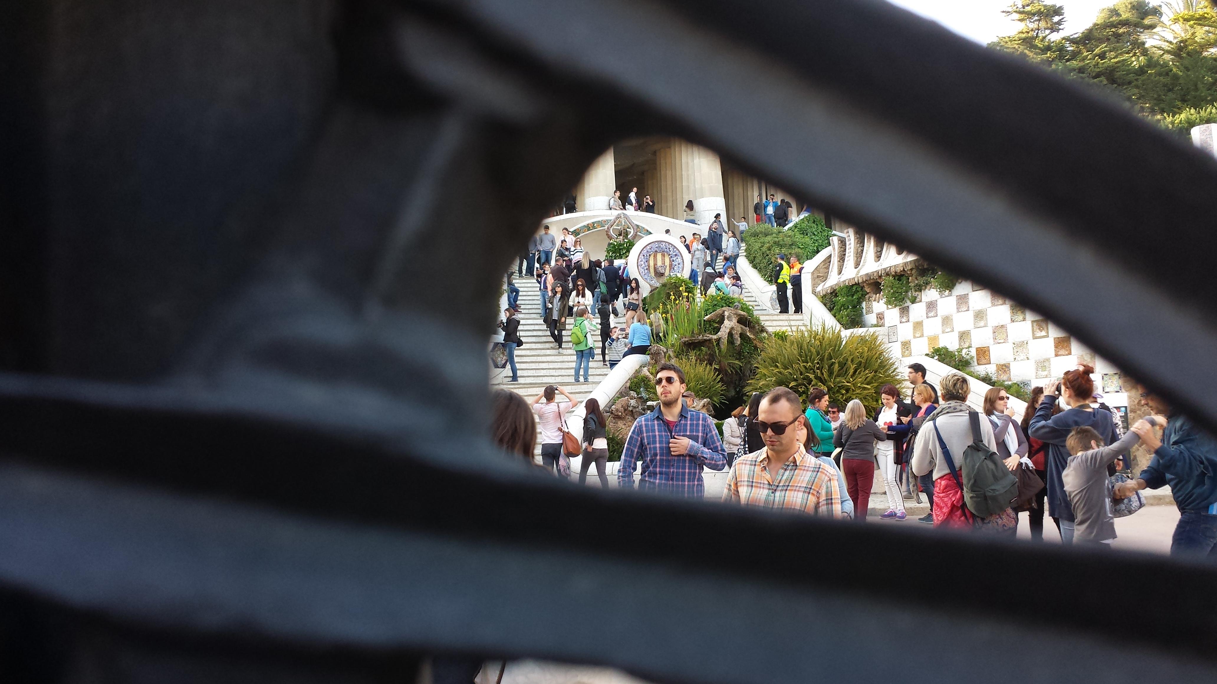 Park Güell, Barcelona, April 2015